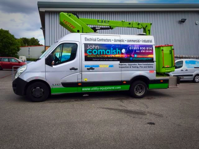 Our electrical vans have had a makeover